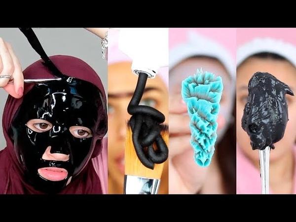 Топ 11 Маски для лица.Эффективный уход за кожей 💜 Face Mask Compilation - Dry Skin, Oily Skin