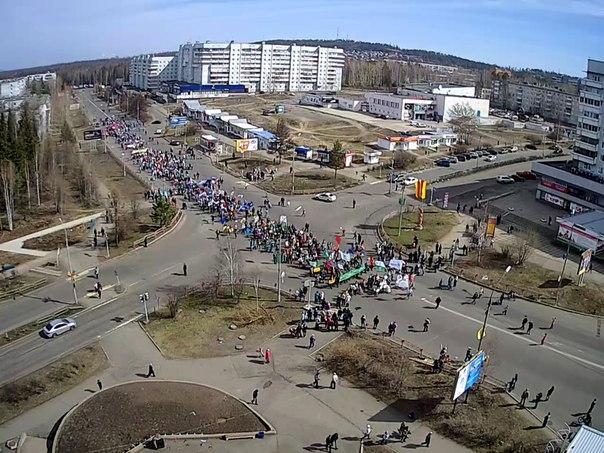Усть-Илимск. 1 мая