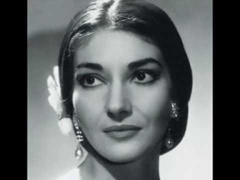 Maria Callas O Mio Babbino Caro Giacomo Puccini