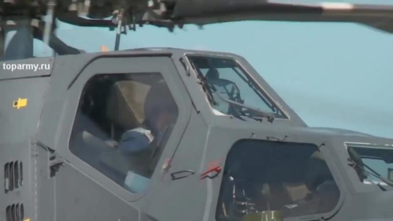 МИ 28Н Сирия Кадры из кабины Стрельба управляемой ракетой по БМП и Укрытию терроистов из ИГИЛ ПАЛЬМИ