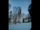 Горнолыжный курорт Красное озеро! Спуск!