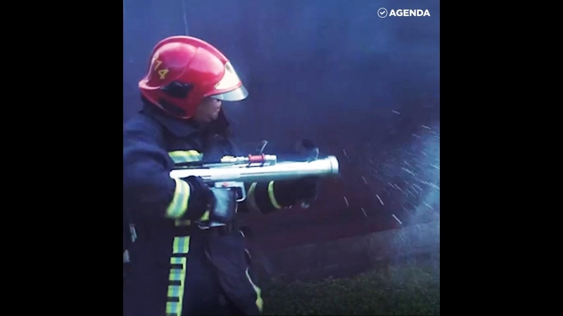 Противопожарный импульсный супербластер