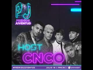 ¡Hoy les anunciamos que @cncomusic sera uno de nuestros HOST para #PremiosJuventud !!⚡️🔥 #cncowners where you at?! 🤩