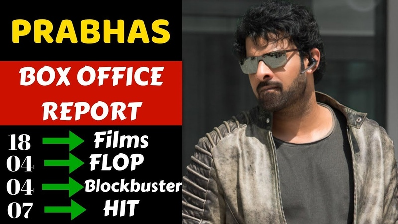 Prabhas Box Office Collection Analysis Hit Flop and Blockbuster all Movies List