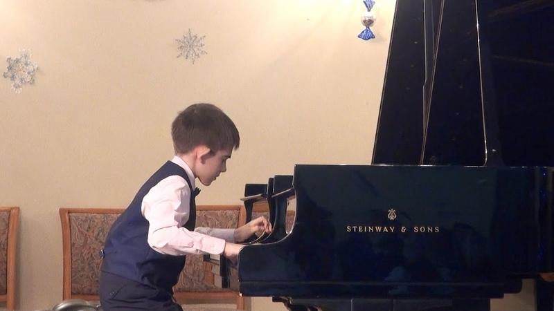 Выступление на окружном концерте фортепианных отделов ЮВАО
