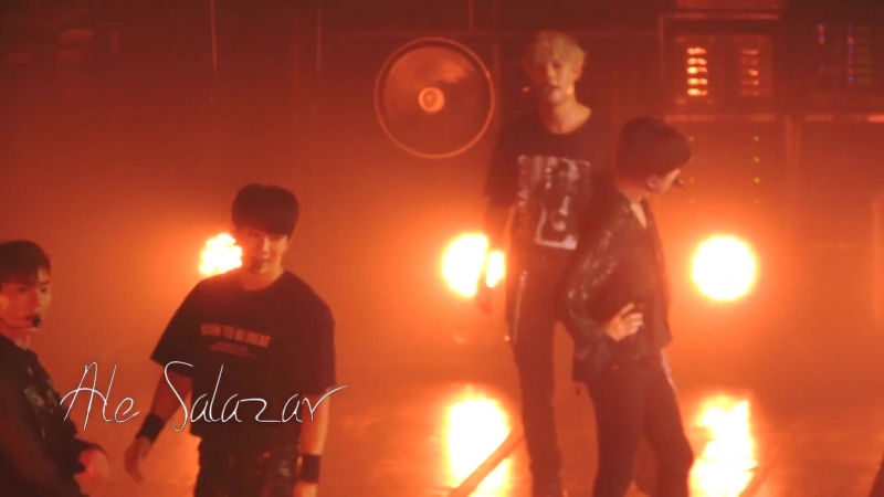 [VK][180808] MONSTA X fancam - Trespass (Remix ver.) @ The 2nd World Tour The Connect in Buenos Aires