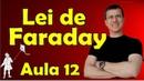 Lei de Faraday - Indução eletromagnética - Eletromagnetismo Aula 12 - Prof. Marcelo Boaro