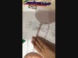 Рисую для Kanako