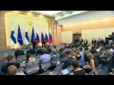 Совместная пресс-конференция с Президентом Финляндии Саули Ниинистё