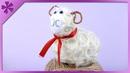 DIY Sisal Easter lamb (ENG Subtitles) - Speed up 75