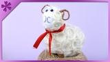 DIY Sisal Easter lamb (ENG Subtitles) - Speed up #75