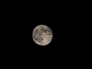 Самолёт, Луна