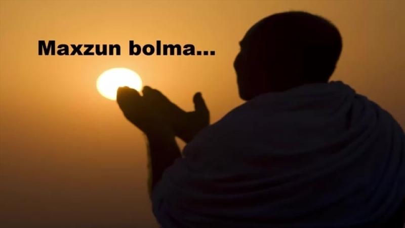 Abdulloh Domla Maxzun bolma....mp4