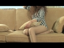 Sofa Pantyhose Girl