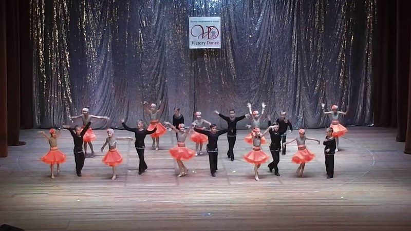 Бальные танцы младшие основные Самба