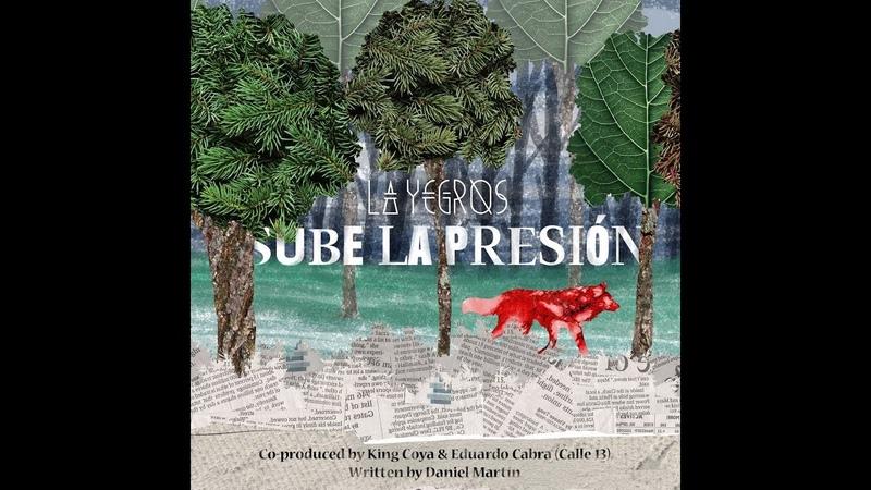 La Yegros - Sube La Presión (Lyrics Video)