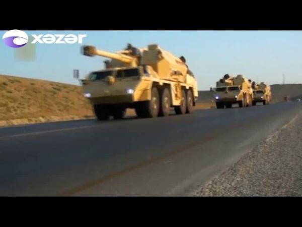 Azərbaycan Ordusu genişmiqyaslı təlimlərə başladı -Yeni silahlar nümayiş edildi