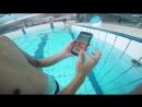 Notch Display Ulefone Armor 5 Waterproof Test in Pool