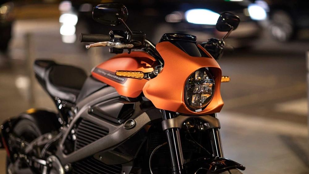 EICMA 2018: электроцикл Harley-Davidson LiveWire 2019