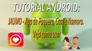 TUTORIAL ANDROID - JAUMO - App de Paquera, Chat e Namoro. Veja como usar (FullHD)