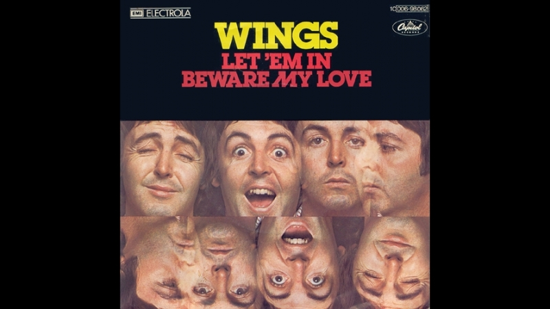 Paul McCartney Wings - Let 'Em In(1976)
