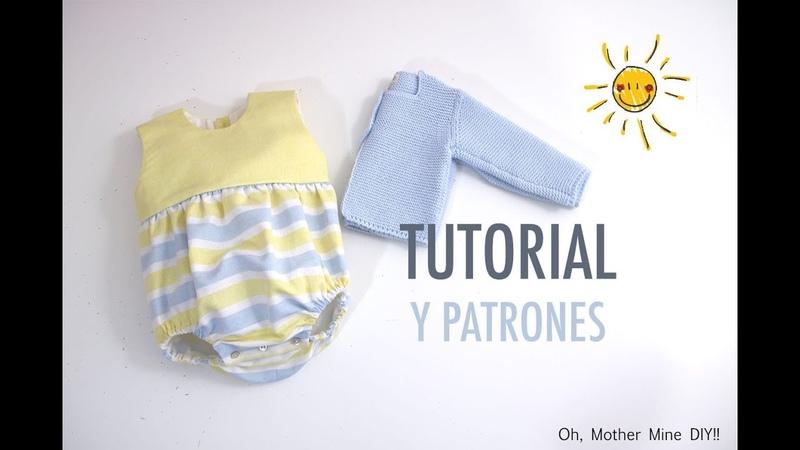 Costura de ranita combinada para bebés (patrones gratis)