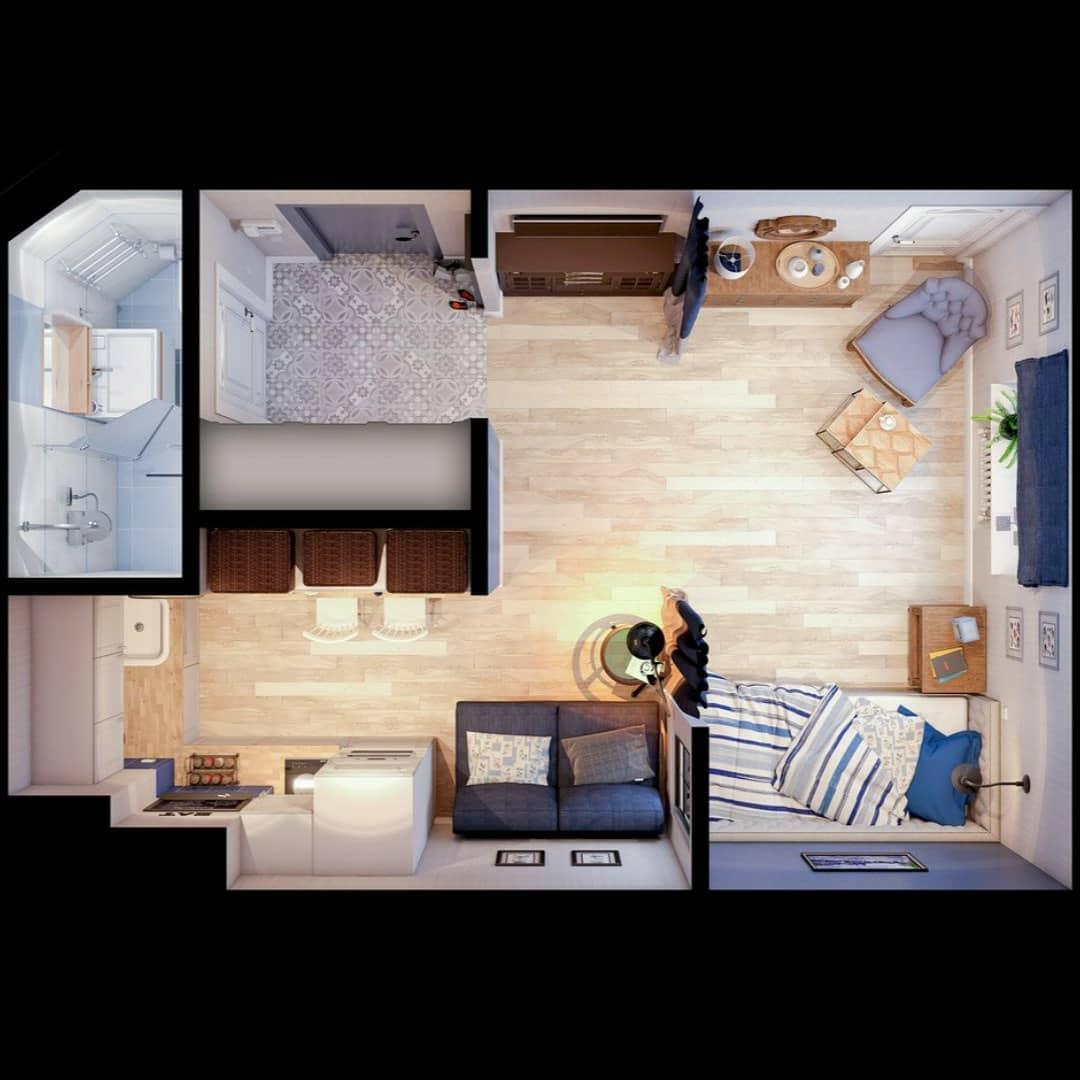 Дизайн — проект квартиры 24.