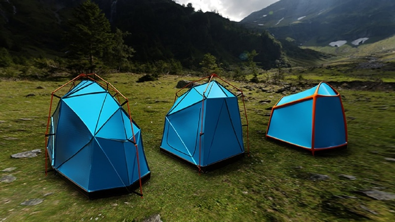 Bolt Tents lightning rods included available in three designs Bolt Half One Bolt Bolt Air