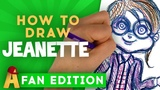 How To Draw Jeanette The Chipmunks Channel