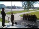 Так в армии поздравляют,молодого товарища