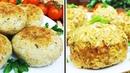 2 варианта ПОСТНЫХ вкусных КОТЛЕТ из цветной капусты