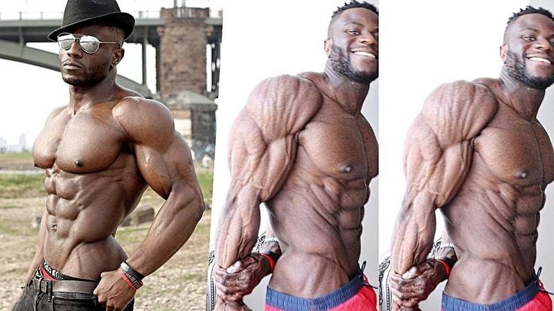 22 YAŞINDA İNANILMAZ PARAMPARÇA VÜCUT - Nathan Mozango | Fitness Motivasyon