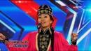 Диана Босхомджиева I Ахан дүүсээ зорьсон бүсгүй I 1-р шат I Дугаар 1 I Mongolia's got talent 2018