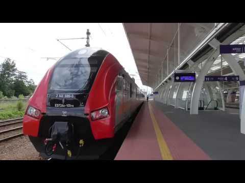 Stacja PKP Gliwice [ EIP IC TLK KS Regio Cargo ]