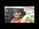Прикол окрашивание, омбре, шатуш, стрижка женская пермь, парикмахер, розовые волосы, цветное мелирование