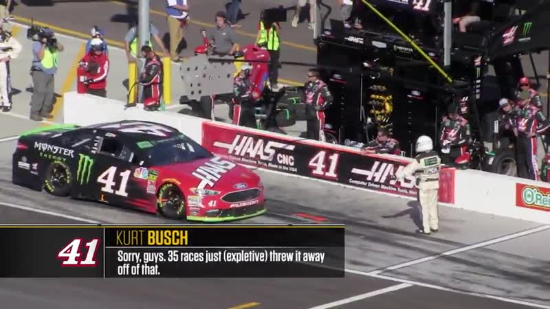 Radioactive: Phoenix - Sorry, guys. 35 races just (expletive) threw it away off of that.