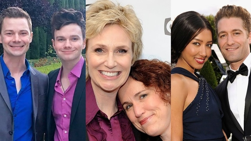 Glee ... and their real life partners