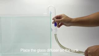 Установка диффузора ISTA Glass CO2 Diffuser