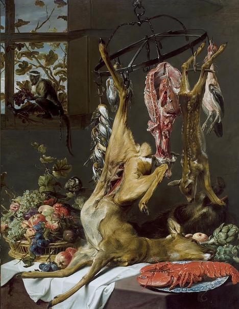 Франс Снейдерс (Frans Snyders, 11 ноября 1579 - 1657) — фламандский живописец, мастер натюрмортов и анималистических композиций в стиле барокко. Воспитанник Питера Брейгеля-младшего и Хендрика