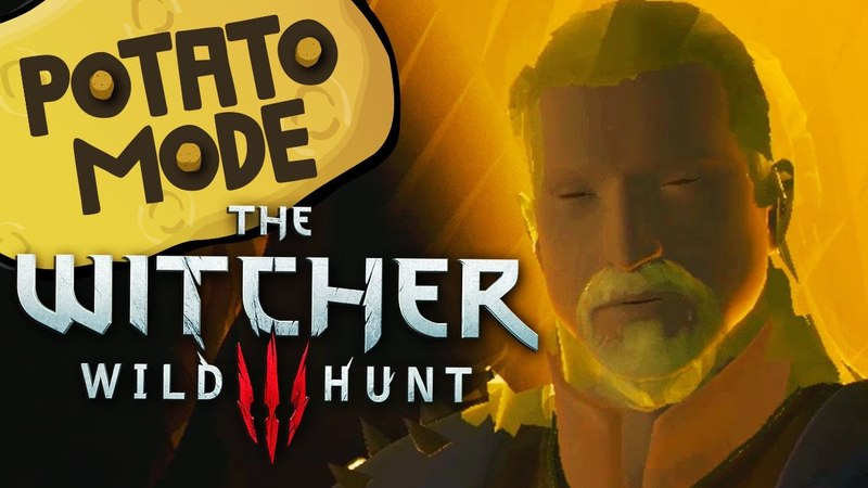 The Witcher 3s Lowest Settings Are An Existential Nightmare | Potato Mode