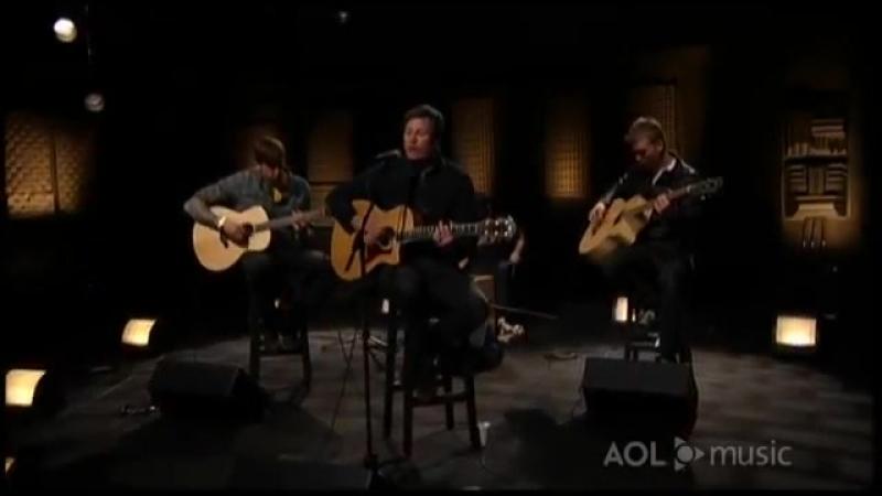 Angels and Airwaves - Secret Crowds (AOL In Studio)