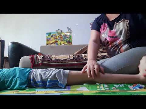 Растяжка задних мышц ног/Упражнения на мышцы таза/ Разогреваем мышцы/ ЛФК при ДЦП, родоая травма