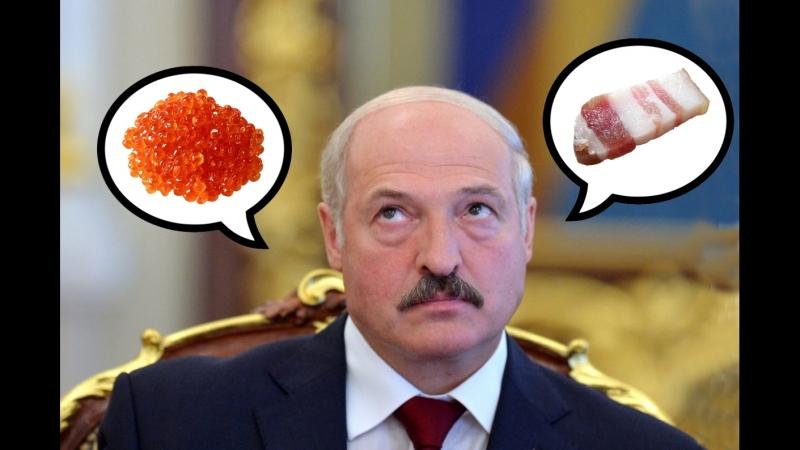 Хроники заБеларусь. Лукашенко отведал икры и посоветовал сало