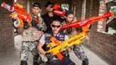 LTT Nerf War SEAL X Warriors Nerf Guns Fight Criminal Group Dr Lee Alone Attack