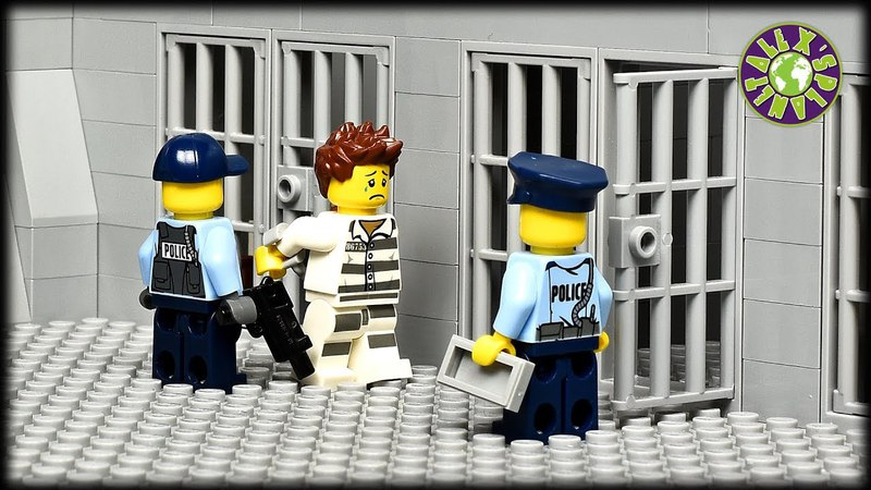 Lego Prison Break. The Robbery.