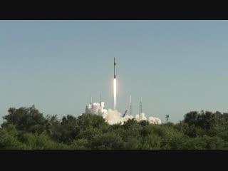 Авария при возвращении первой ступени ракеты Falcon 9