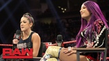 #SBMKV_Video Bayley &amp Sasha Banks want to be the first WWE Women's Tag Team Champions Raw, Dec. 3, 2018