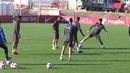El Sevilla FC se entrena con la mente en los dieciseisavos de Copa
