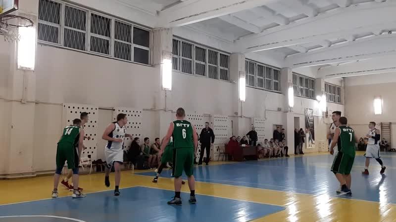 ВГУ vs ВГТУ-2 3 четверть