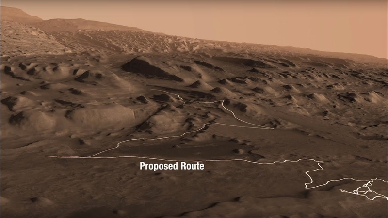 NASA's Curiosity Finds Climate Clues on a Martian Mountain